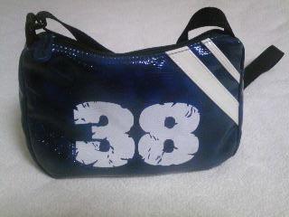 38(みわ)の日に「38」のバッグ♪