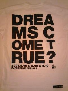 会場限定Tシャツ@福岡