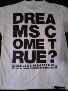 会場限定Tシャツ@代々木