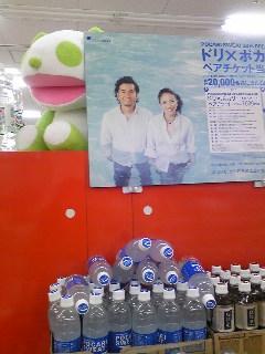 ドリと生茶パンダ先生 夢のコラボ(^O^)♪